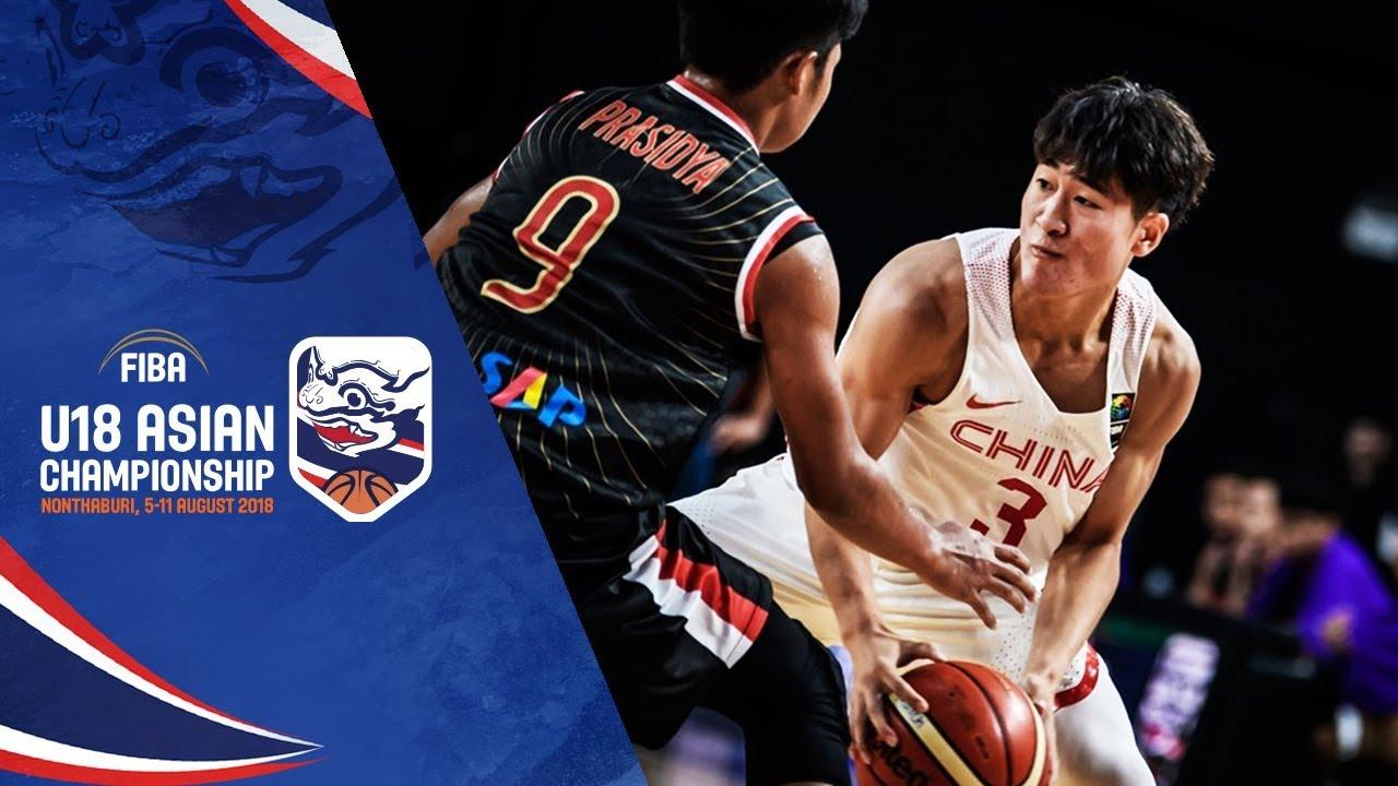China v Indonesia - Full Game - Qual. to Quarter Final