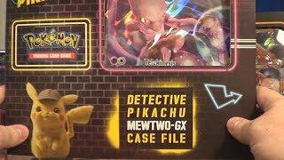 Opening a Mewtwo GX Case File! (Pokemon: Detective Pikachu TCG)