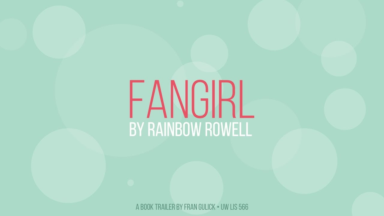 fangirl by rainbow rowell book trailer youtube