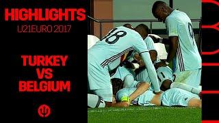 U21 U21EURO 2017 Qualification Turkey 1 2 Belgium
