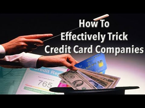 How to Effectively Trick Credit Card Companies | KeAmber Vaughn