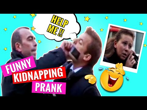 Funny Kidnapping Prank : Worlds Funniest Gags