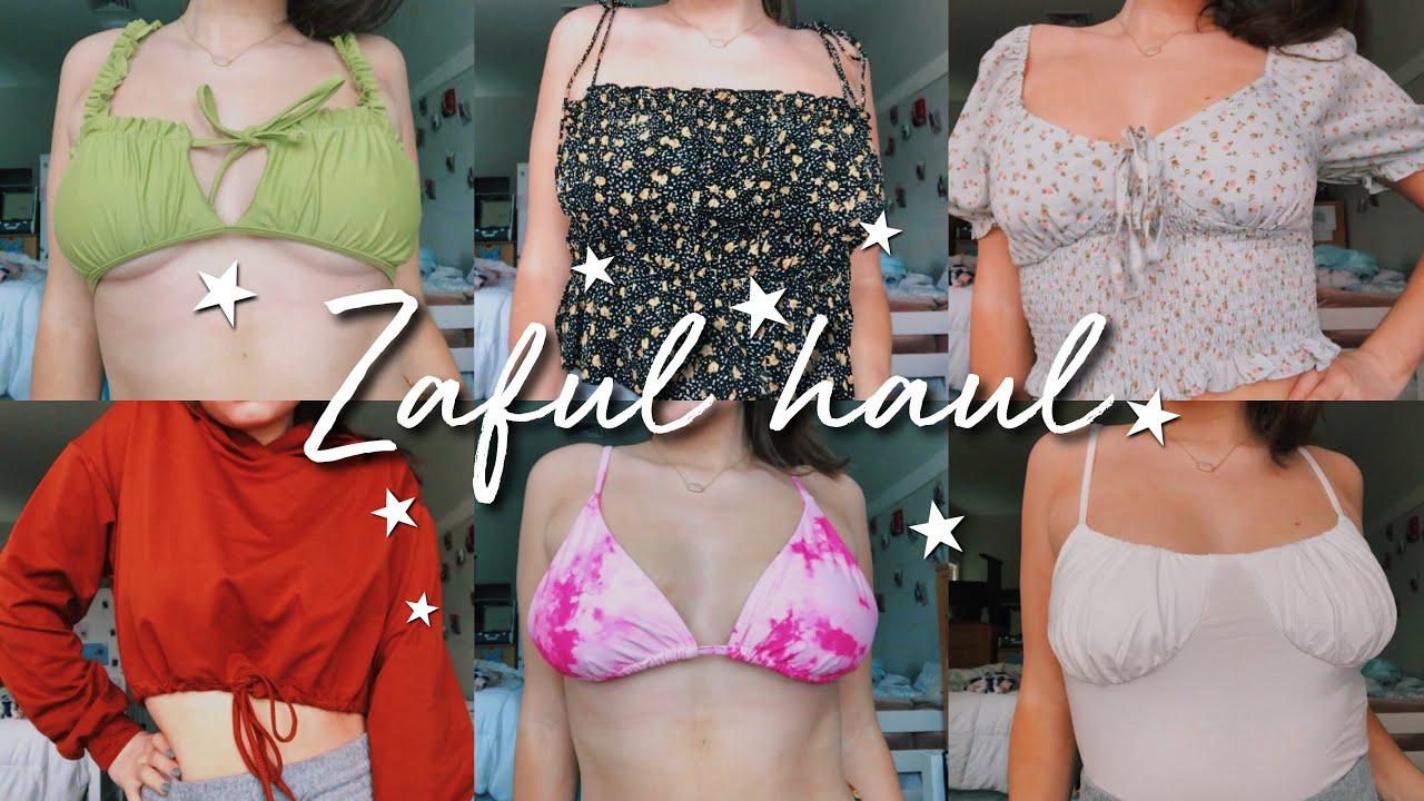 Zaful try-on clothing & bikini haul | isabelle dyer