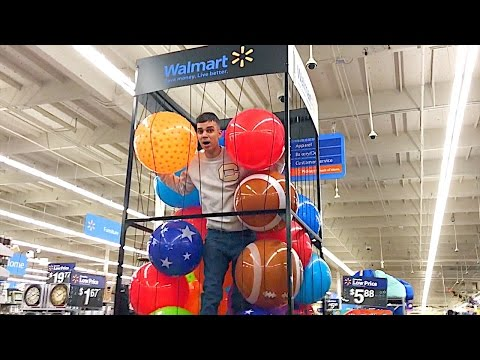DOING YOUR DARES IN WALMART (COPS KICKED US OUT)