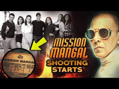 MISSION MANGAL Movie Shooting Starts | Akshay Kumar | Vidya Balan | Taapsee Pannu | R Balki