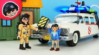 Geisterjagd auf Kuno Knack! -  Playmobil Polizei Film -  KARLCHEN KNACK #302