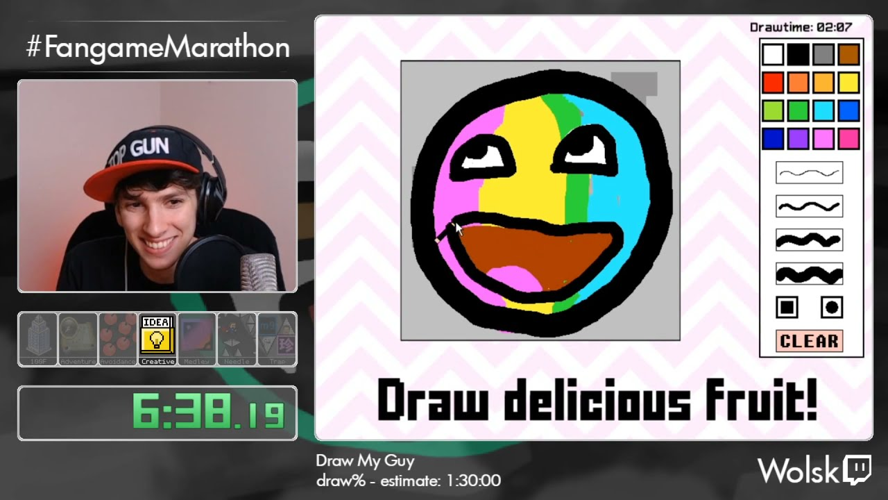 FM 2020 Bonus 6 - Draw My Guy (FM20 Edition) by Wolsk