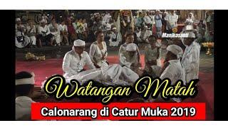Calonarang di Catur Muka Puputan Badung  2019 - Part 2