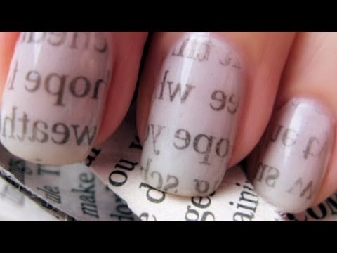 Chic newspaper nail art cutepolish disney style youtube chic newspaper nail art cutepolish disney style prinsesfo Image collections