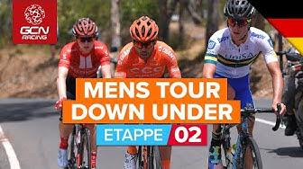 Santos Tour Down Under 2020 | 2. Etappe HÖHEPUNKTE | Novatech Etappe 2: Woodside - Stirling
