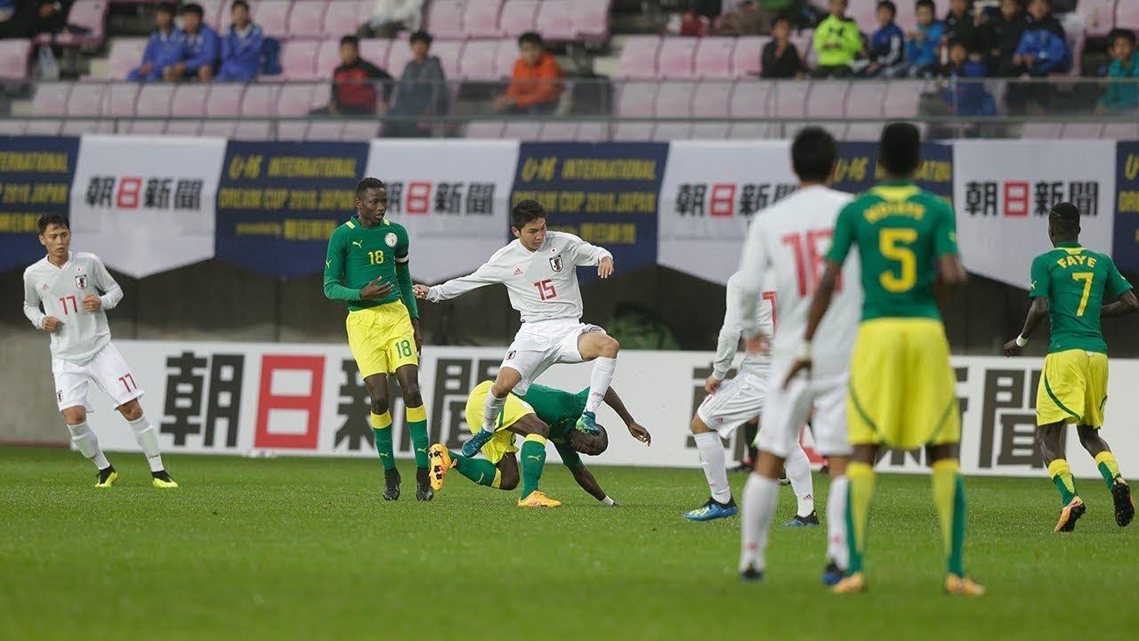 U-16日本代表 vs U-16セネガル代...