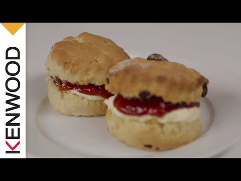 Scones Recipe | Demonstrated With Kenwood Chef