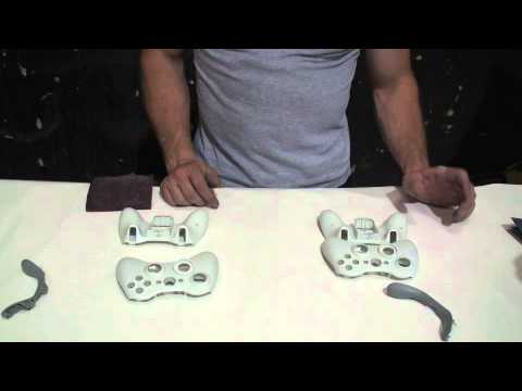 How to paint an xbox 360 controller (Part 1 of 4)