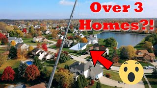 Hoisting Pools Over Houses?! - Treeboy Productions