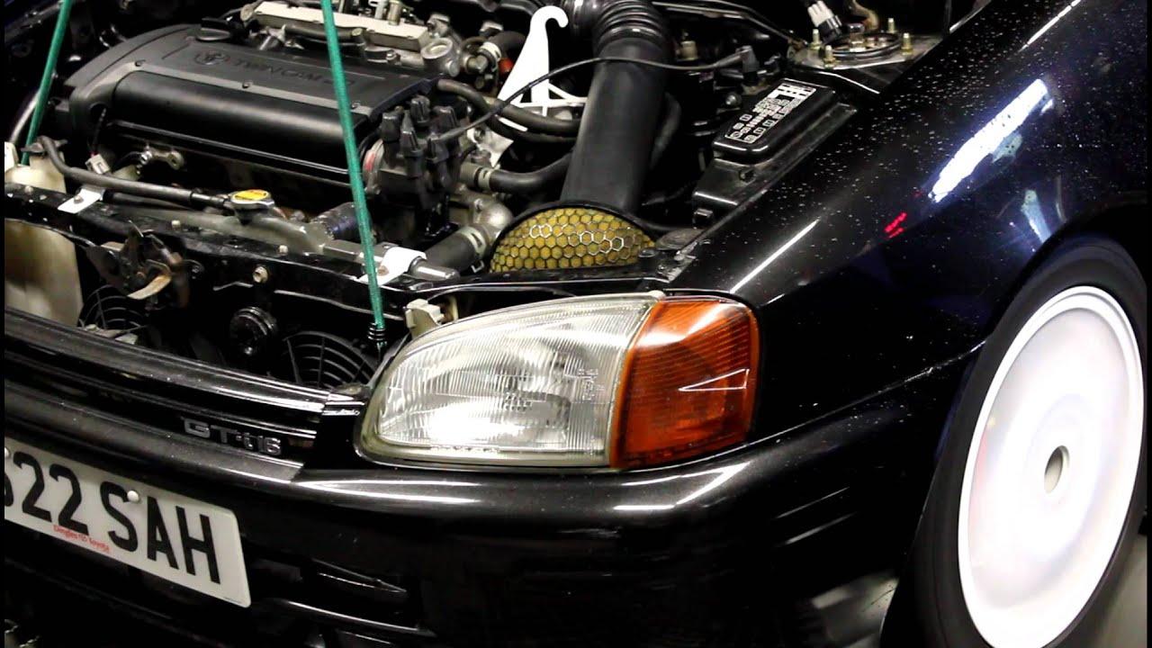 1998 Toyota Starlet SR 1 6 20v 4AGE