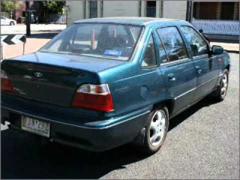1997 DAEWOO CIELO GL - South Melbourne VIC - YouTube
