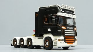 WSI Scania R-series Topline 8x4 by Cranes Etc TV