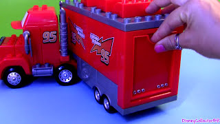 Cars Mega Bloks Mack Truck Hauler Buildable Toys Lightning Mcqueen Epic Review Disney Blocks