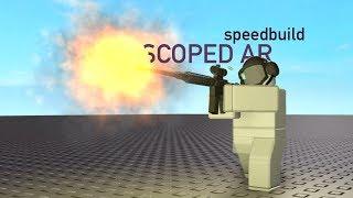 Roblox Speedbuild - Scoped AR