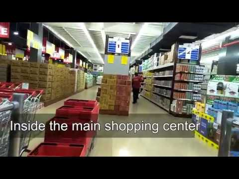 Tour to 9 Mile Plaza Shopping Mall -Port Moresby