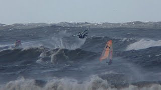 Windsurfing Stormswell @ IJmuiden 291017