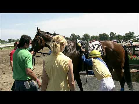 video thumbnail for MONMOUTH PARK 08-02-20 RACE 3