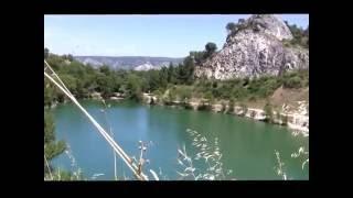 Valley de Heureuse. Orgon, Provence, France.