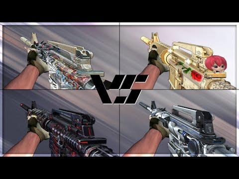 CrossFire 2.0 : M4A1-S PREDATOR vs M4A1-S VIP
