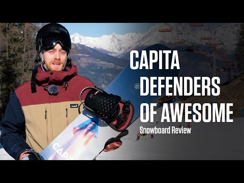 Capita Defenders Of Awesome 2020 Snow+Rock Snowboard Review