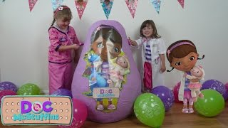 disney doc mcstuffins videos super giant surprise egg the worlds biggest surprise egg disney junior