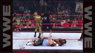 Booker T & Goldust vs. 3 Minute Warning: Raw, September 30, 2002