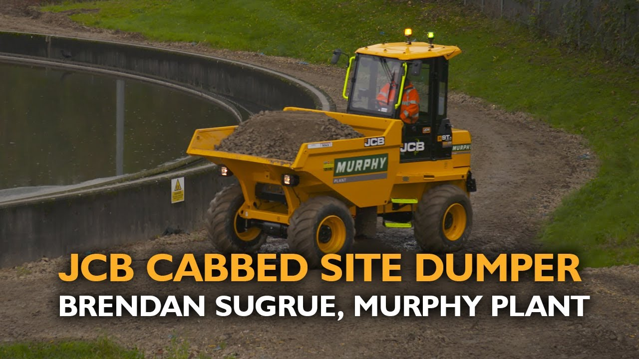 The Head of Ops' Opinion - JCB Cabbed Site Dumpers, Murphy Plant