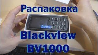 Blackview BV1000 - розпакування захищеного телефону