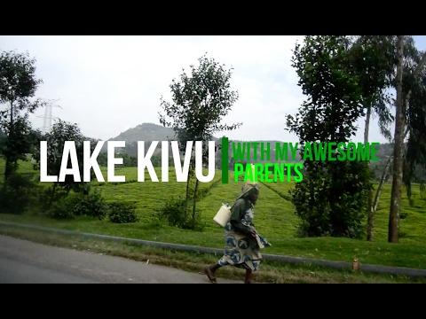 A weekend with my parents at Lake Kivu Gisenyi Rwanda in safari tents | Vlog #4