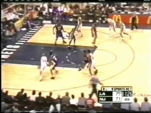 Stephon Marbury Greatest Games: Career High 50 Points vs LA Lakers (2001)