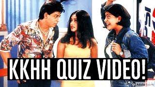 Kuch Kuch Hota Hai Movie Quiz   ShahRukh Khan and Kajol Quiz Show   Source of Bollywood