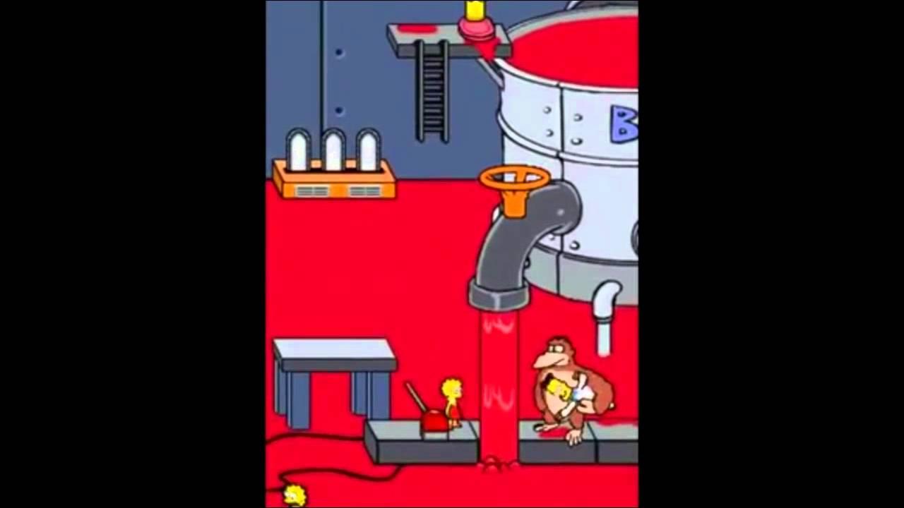 Download Les Simpson le jeu   Episode 3   L'attaque du Singe DS