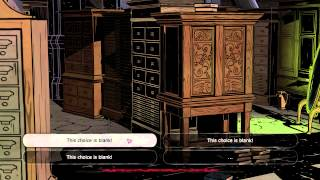 This choice is blank! - The Wolf Among Us (Glitch)