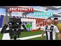 Monster School : Epic Penalty Challenge with RONALDO, NEYMAR, BALDI'S - Minecraft Animation