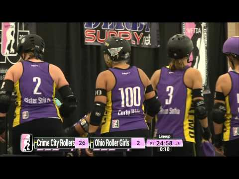 Dallas Game1: Crime City Rollers v Ohio Roller Girls