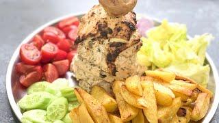 Для любителей Донер Кебаба/Шаурмы! Кебаб из Курицы/ Мясо для Шаурмы в Домашних Условиях!