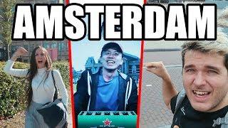 MI PRIMERA VEZ EN AMSTERDAM!!!