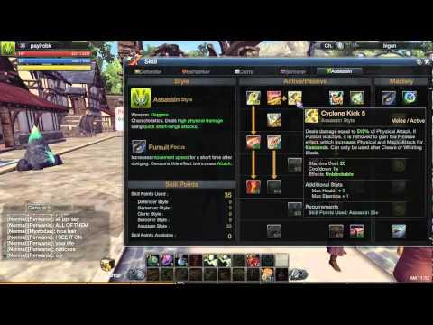 gameplay de raiderz excelente juego online