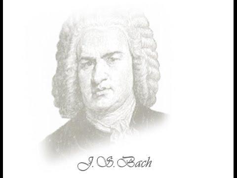 Bach - Suite (Ouverture) no.5 BWV1070 - II. Torneo-Piano version mp3