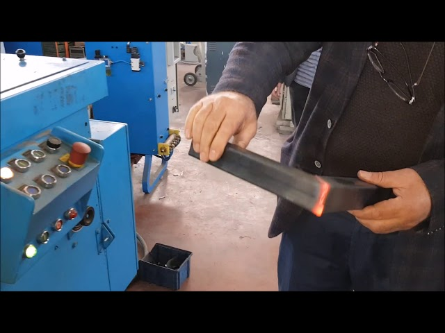 Sağlam Makina - flash welding for square profile