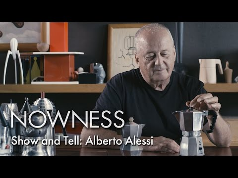 Show and Tell: Alberto Alessi
