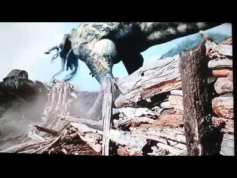 Prehistoric Park T-rex vs Ornithomimus