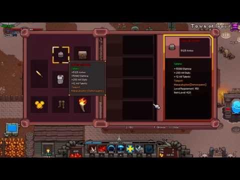 Hero siege - Demon Spawn Build(Lv150+Hero Lv58) Item & Skill tree 히어로시즈 데몬스폰 스킬트리 및 아이템