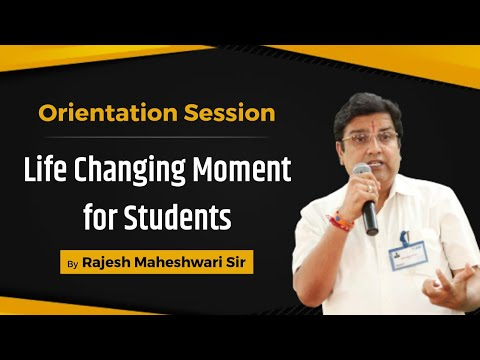 ALLEN Career Institute Kota | Orientation Session by Founder Director Rajesh Maheshwari Sir