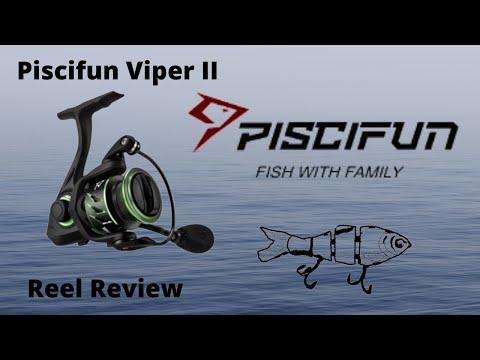 Kayak Bass Fishing-Subscriber Giveaway/Piscifun 3000 Viper II Spinning Reel Review